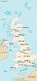 Life in the UK Test Uk map