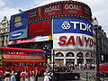 Life in the UK Test Piccadilly Circus London