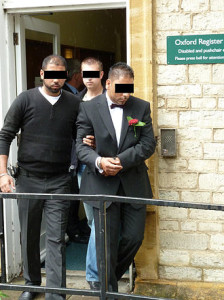 sham marriage UK Home Office Groom is arrested